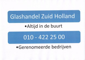 Glashandel Zuid Holland